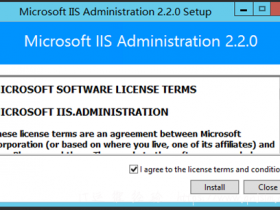 IIS Manager 安装配置,IIS监控安装