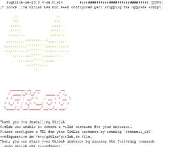 Gitlab.10.0.0安装配置