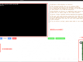 二、熟悉MicroPython,编写简单的程序并写入开发板