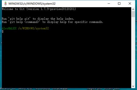 062017 0038 WindosGi2 - Windos下把代码提交到GitHUb上