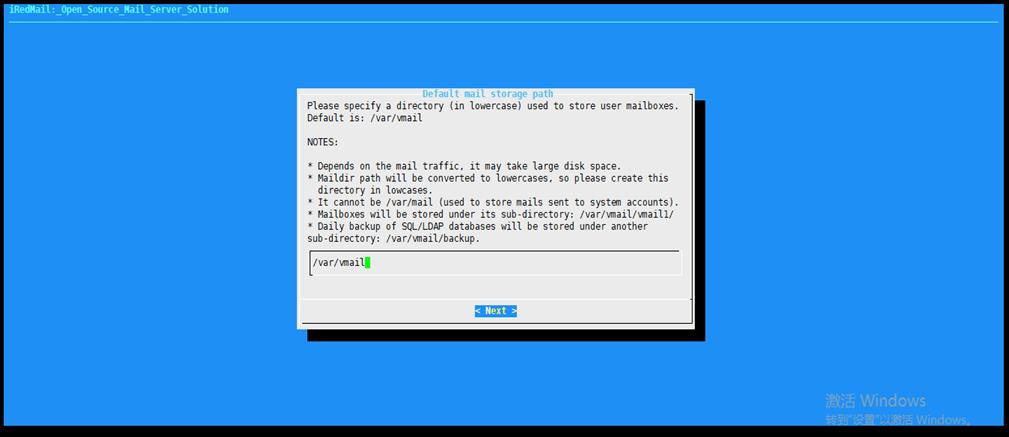 122117 0527 Redhat7iRed11 - 在Redhat7上安装iRedMail邮件系统-系统安装