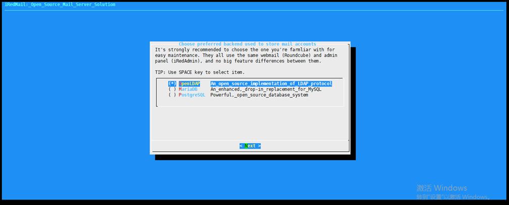 122117 0527 Redhat7iRed13 - 在Redhat7上安装iRedMail邮件系统-系统安装