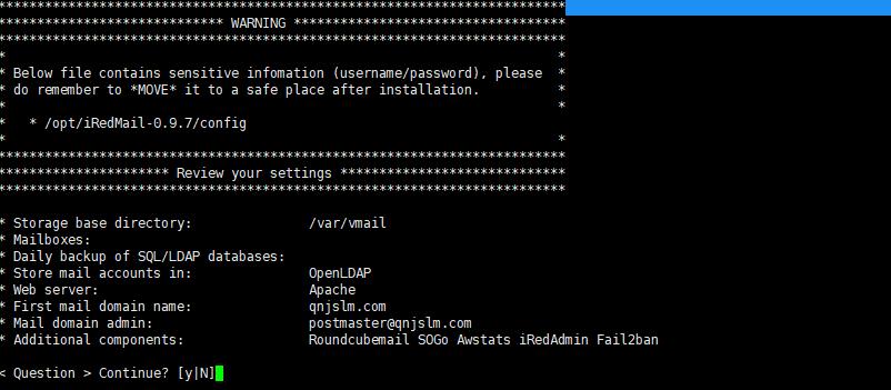 122117 0527 Redhat7iRed19 - 在Redhat7上安装iRedMail邮件系统-系统安装