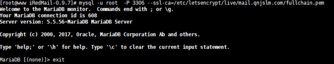 122117 1015 iRedMail12 - iRedMail邮件系统-使用SSL证书,让客户端不显示警告信息,Let's Encrypt证书使用