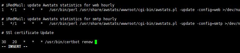 122117 1015 iRedMail3 - iRedMail邮件系统-使用SSL证书,让客户端不显示警告信息,Let's Encrypt证书使用