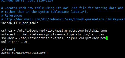 122117 1015 iRedMail7 - iRedMail邮件系统-使用SSL证书,让客户端不显示警告信息,Let's Encrypt证书使用
