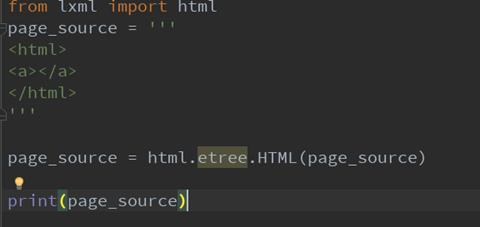041618 1540 Python35lx4 - Python3.5以上版本lxml导入etree报错Unresolved reference