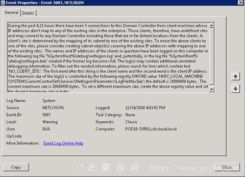 122418 0941 WindowsActi1 - Windows Active Directory Event Id 5807